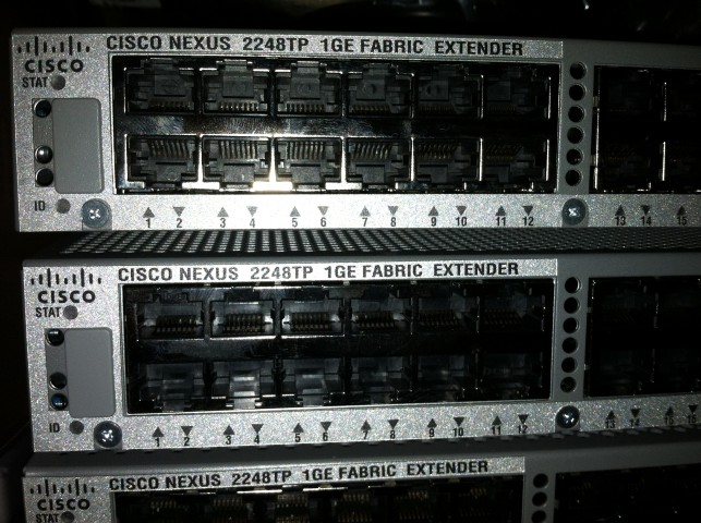 Cisco Nexus 2248tp 5596up Unboxing And Physical Chassis