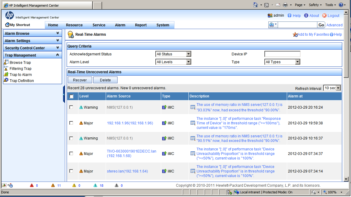 Review: HP IMC - Intelligent Management Center - Packet Pushers