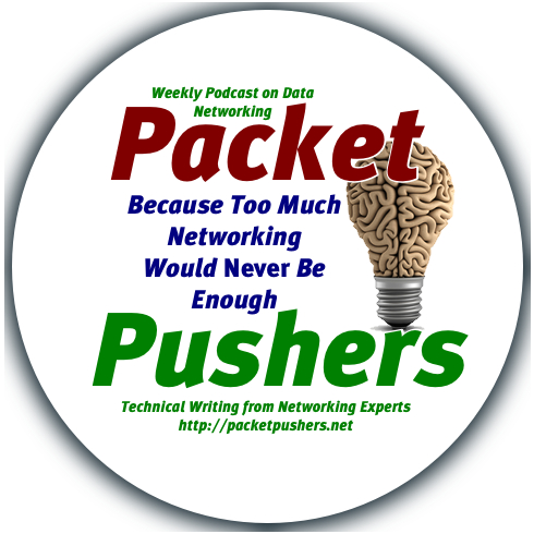 Packet Pushers Round Sticker v1 1 test round logo