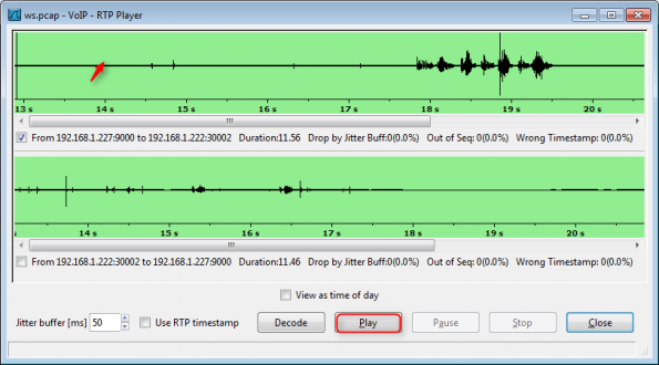 VoIP Call Playback & Other Wireshark Voice Tools - Packet