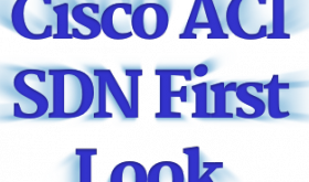 CISCO ACI SDN First Look