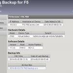 F5 Configuration Backups 3.0