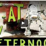 This Week On The Internet: Animated AT-AT, Abused Robot