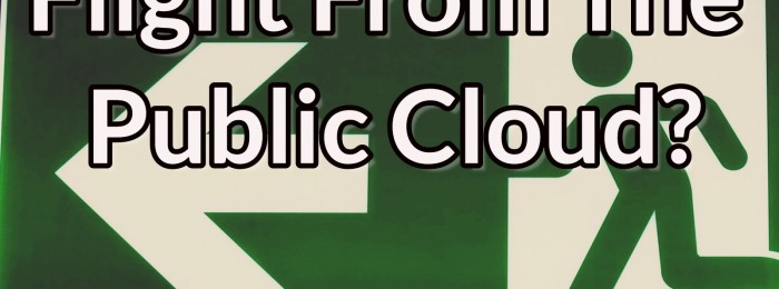 Datanauts 044: Flight From The Public Cloud?