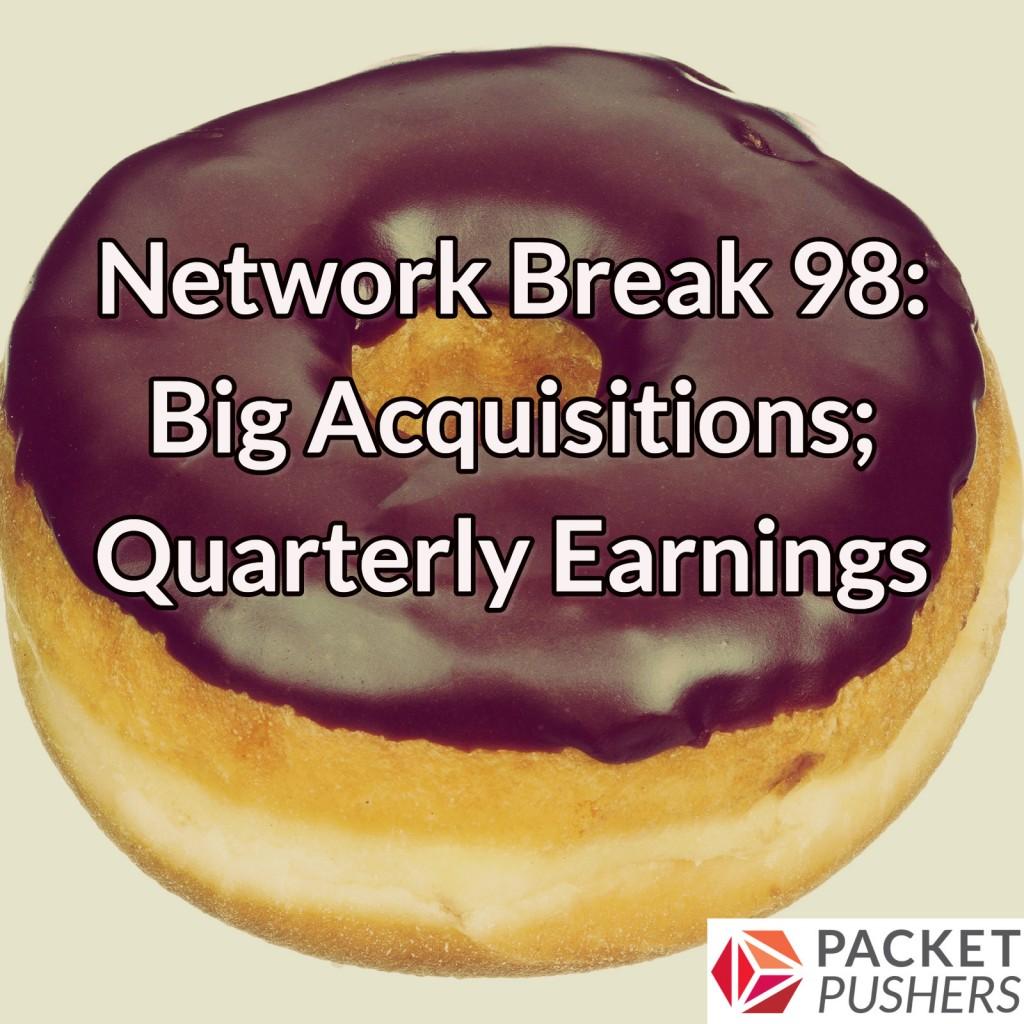 Network Break 98 donut