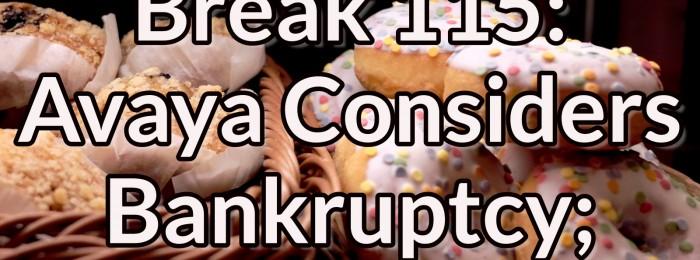 Network Break 115: Avaya Considers Bankruptcy; AWS Reinvents