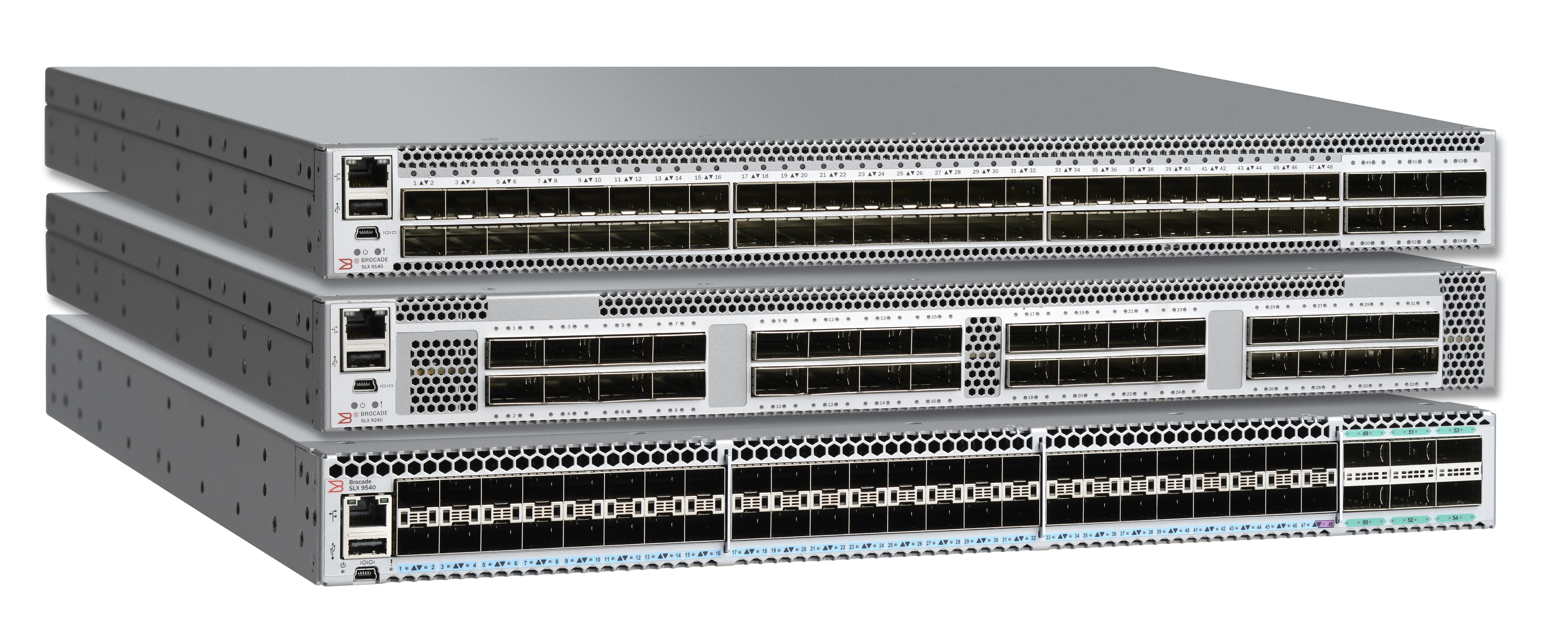 Brocade Extends SLX Networking Line, Enhances Automation