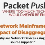 Network Mainframes and The Impact of Network Disagreggation