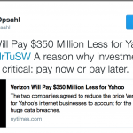 Was Yahoo Smart Not To Spend More Than It Did On Security?