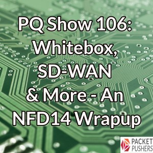 PQ Show 106: Whitebox, SD-WAN & More – An NFD14 Wrapup