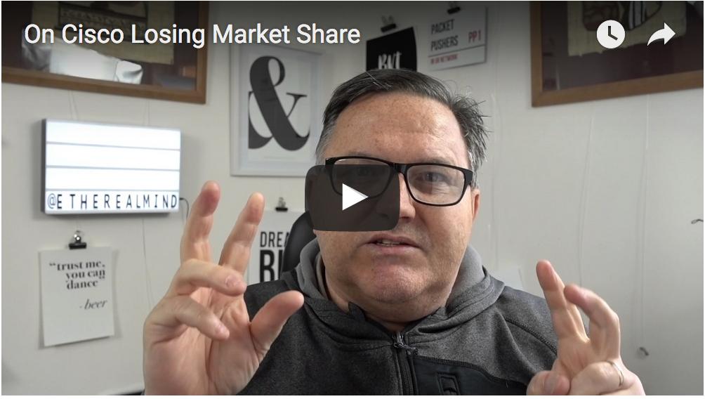 Cisco marketshare