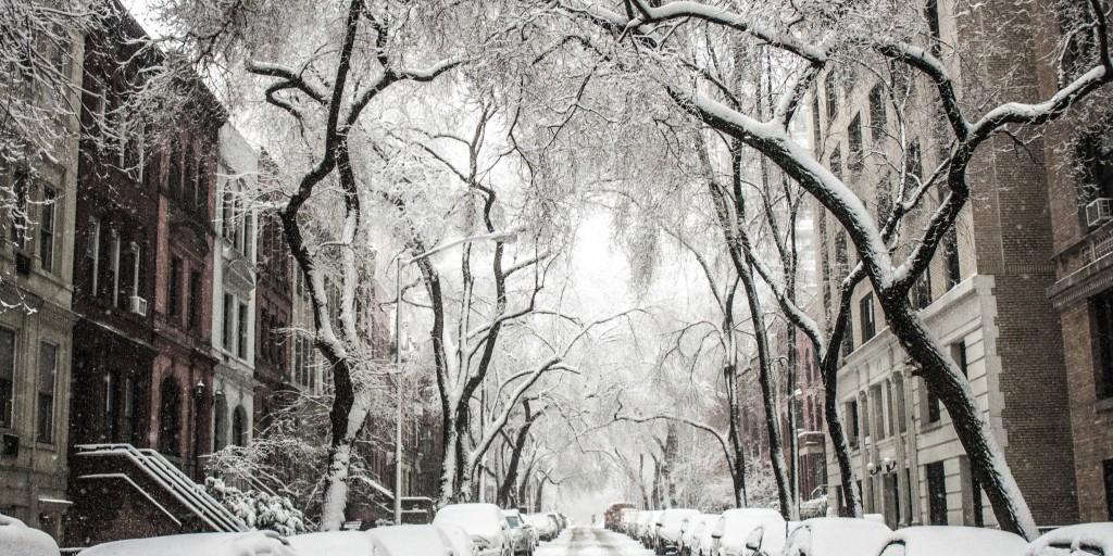 snow storm post