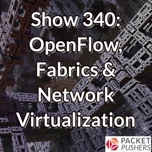 Show 340: OpenFlow, Fabrics & Network Virtualization