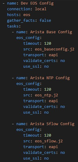 Infrastructure As Code For The Network - Part 1 - Introduction And