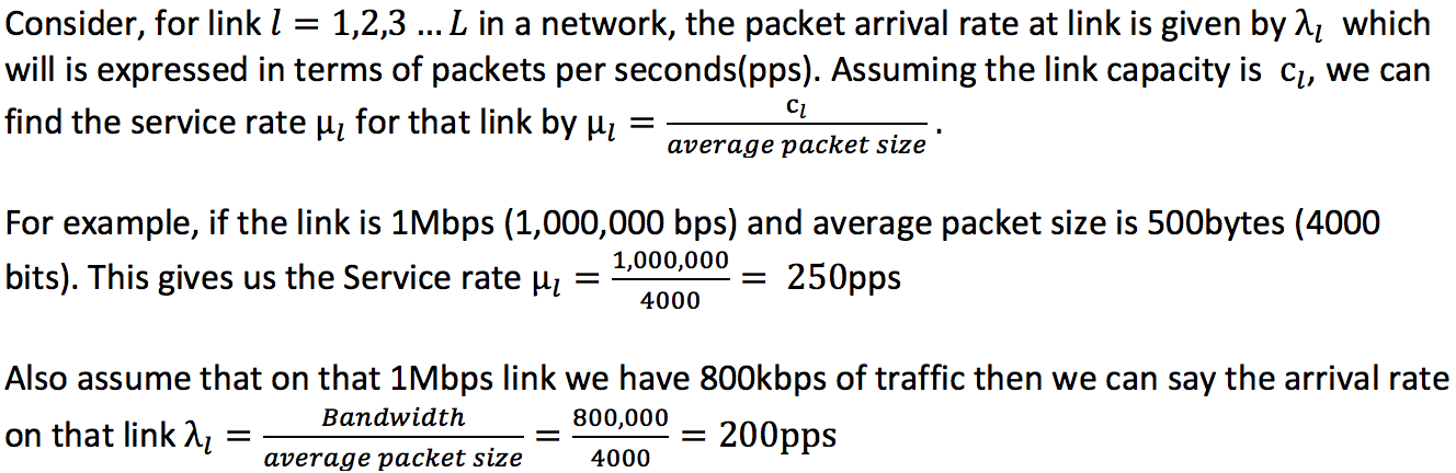 Average Network Delay and Queuing Theory basics - Packet Pushers