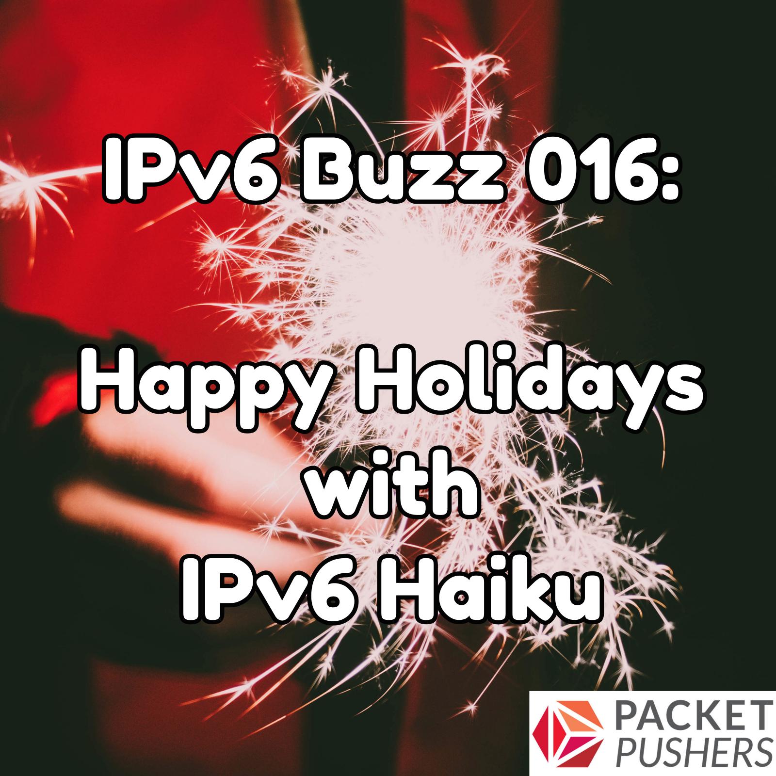 Happy Holidays With IPv6 Haiku